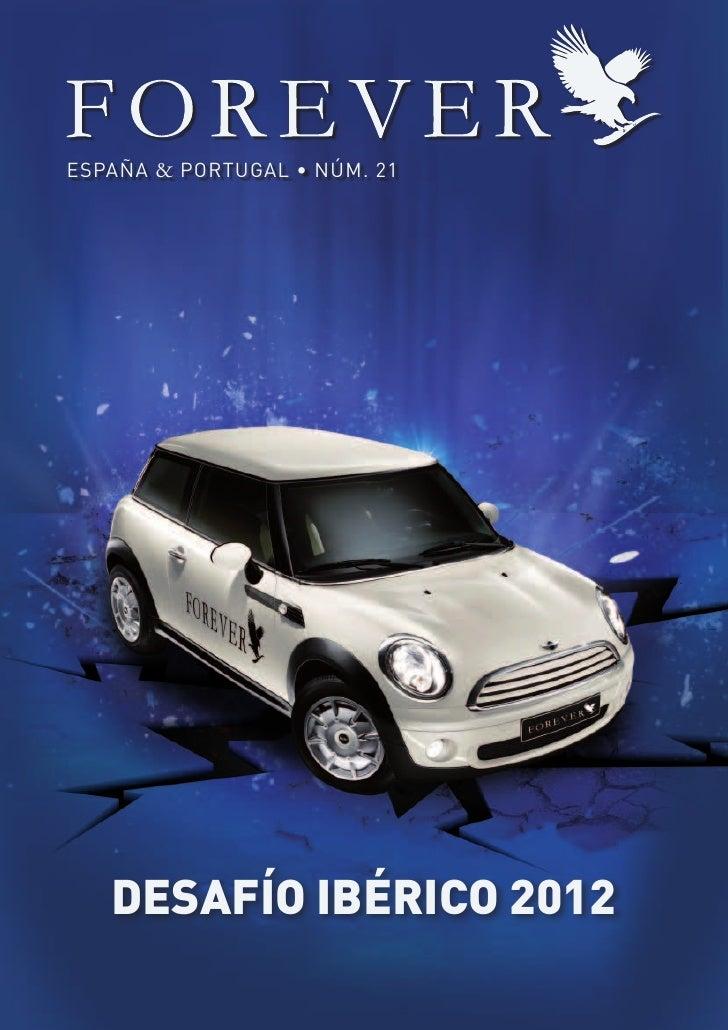 ESPAÑA & PORTUGAL • NÚM. 21   DESAFÍO IBÉRICO 2012