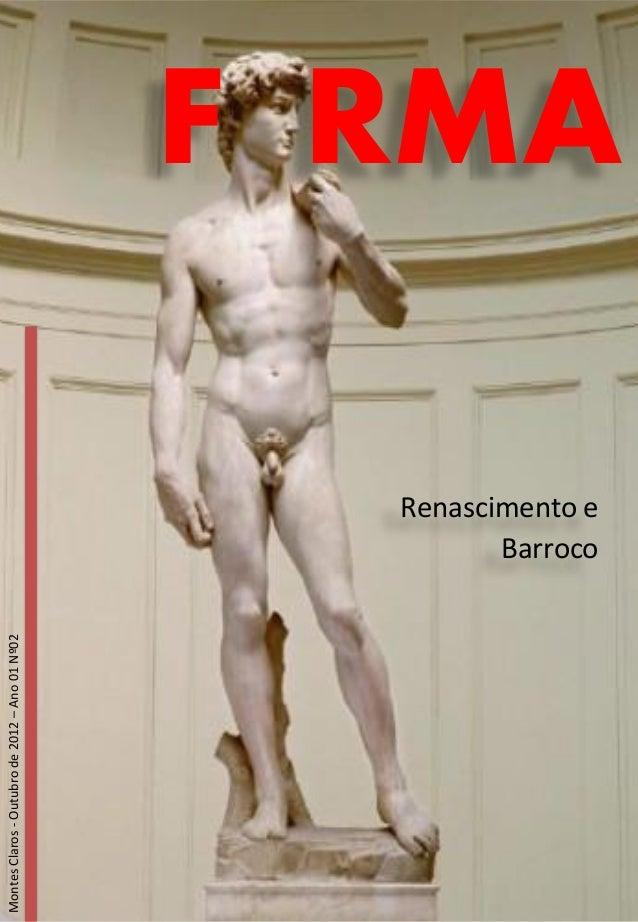 Montes Claros - Outubro de 2012 – Ano 01 Nº02                                                Renascimento e               ...