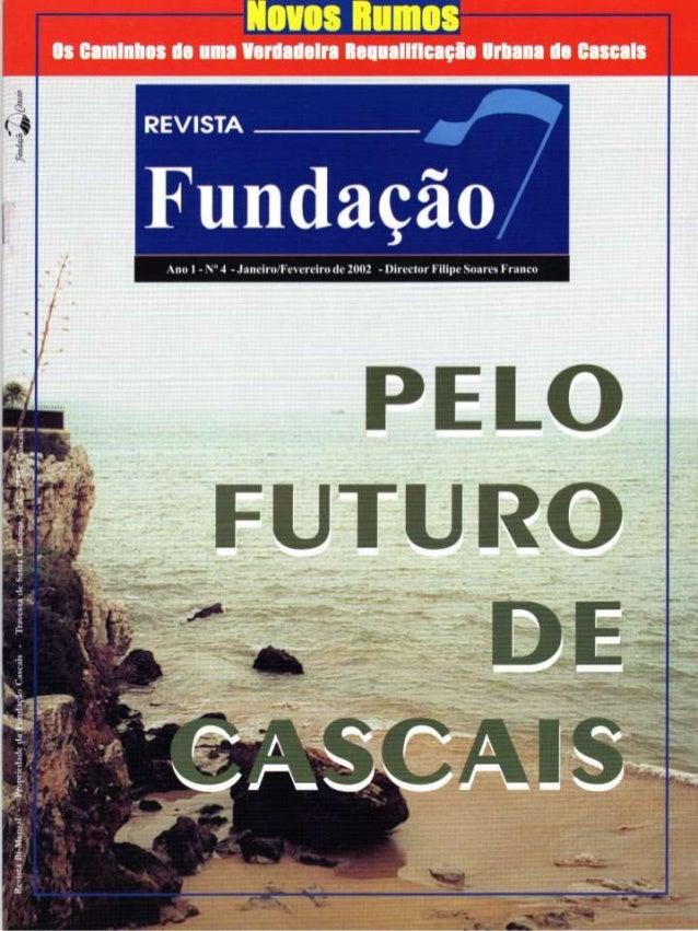Revista Fundação Cascais - Janeiro de 2002
