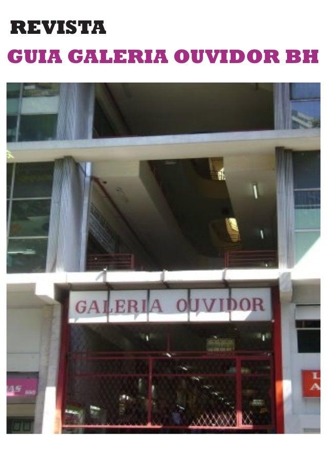 REVISTA GUIA GALERIA OUVIDOR BH
