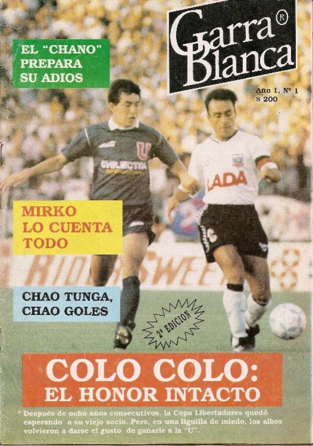 """Revista """"Garra Blanca"""""""
