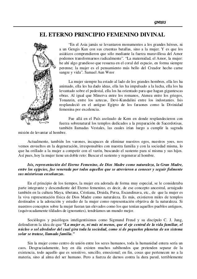 """GNOSISGNOSISGNOSISGNOSIS EL ETERNO PRINCIPIO FEMENINO DIVINAL """"En el Asia jamás se levantaron monumentos a los grandes hér..."""