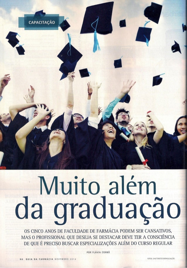 Revista guia da farmácia - Muito além da graduação