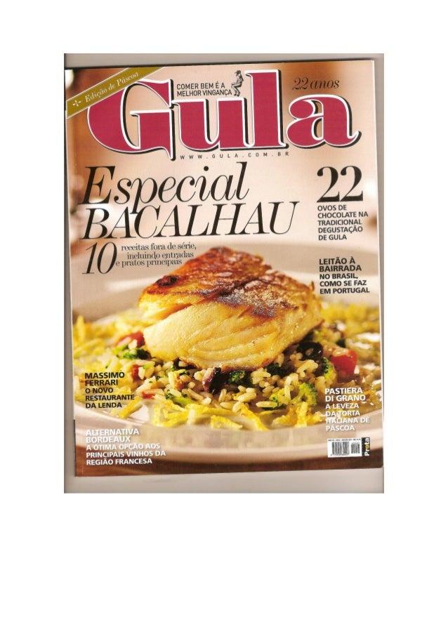 Revista Gula - Cogumelos