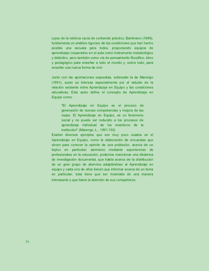 Lejos de la retórica vacía de contenido práctico, Bahlmann (1988),     fundamenta un análisis riguroso de las condiciones ...