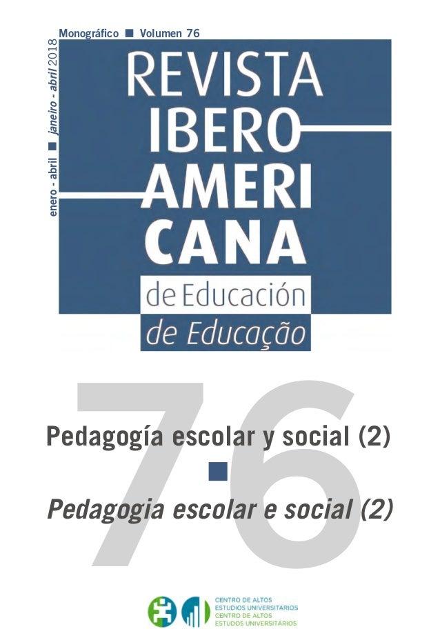 Revista Iberoamericana De Pdgia