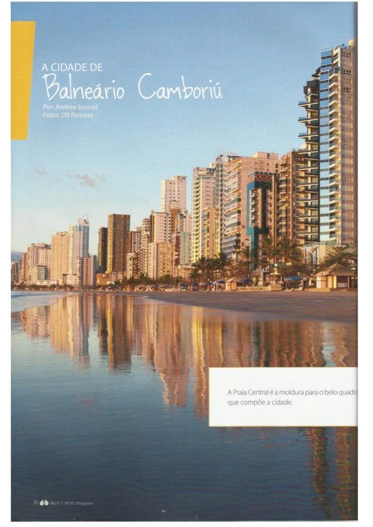 Revista Ibiza Towers  - A cidade