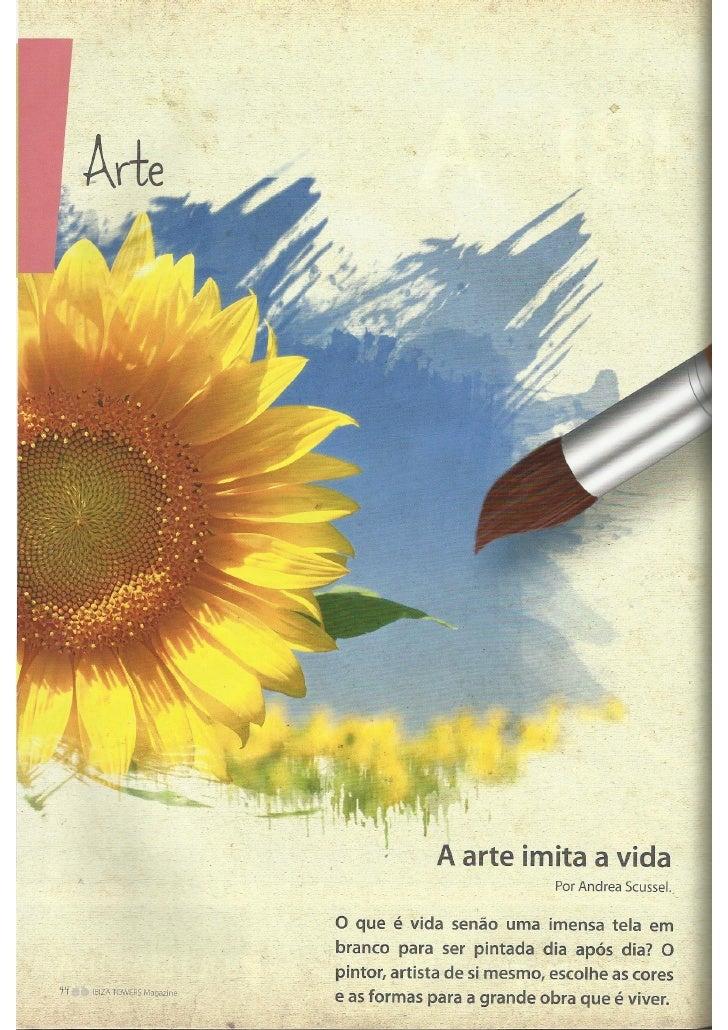 Revista Ibiza Towers - Arte e Gastronomia