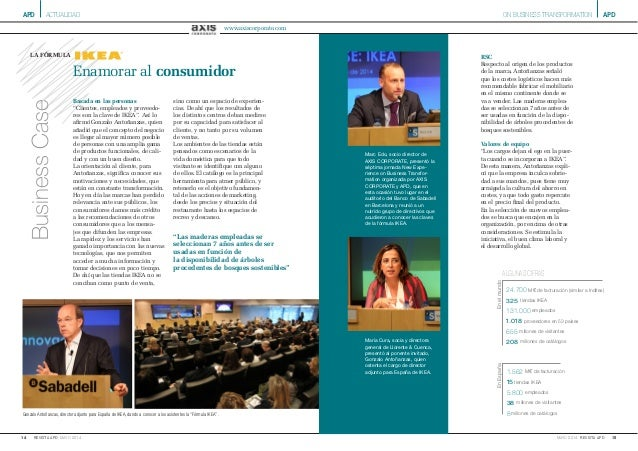 APD 14 MAYO 2014REVISTA APD APD 15MAYO 2014 REVISTA APD ON BUSINESS TRANSFORMATIONACTUALIDAD Gonzalo Antoñanzas, director ...
