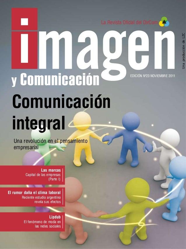 La Revista Oficial del DirCom                                                                                  Una producc...