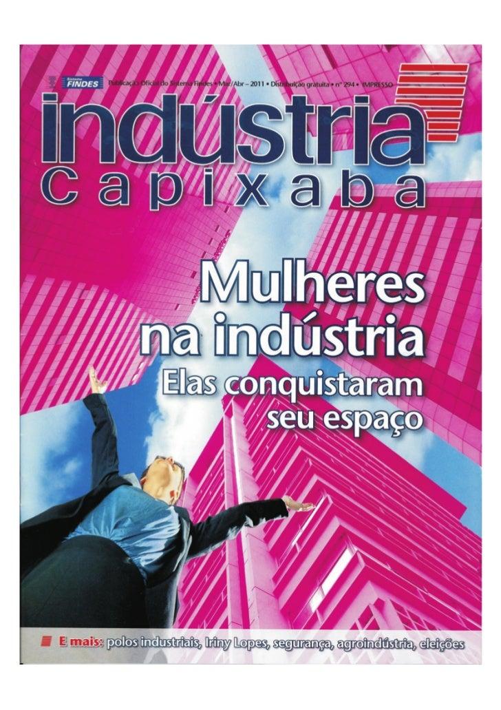 Revista indústria capixaba