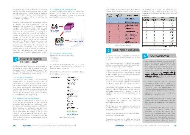 Revista INNOVA Innovación, Ciencia y Tecnología, Vol. 1 Nº 1 / Febrero 2021 - Edición Segunda ISTB 24 Revista INNOVA Innov...