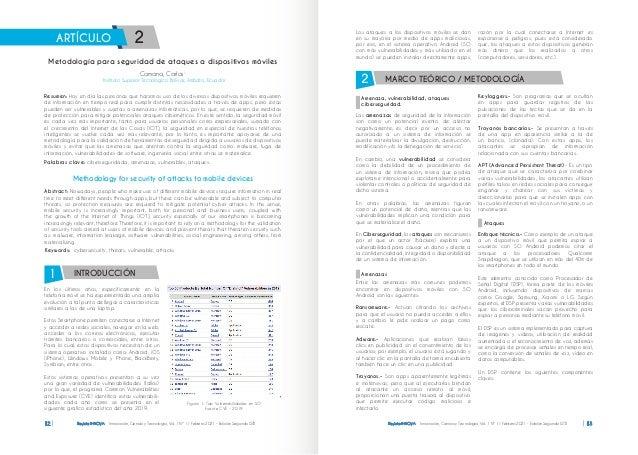 Revista INNOVA Innovación, Ciencia y Tecnología, Vol. 1 Nº 1 / Febrero 2021 - Edición Segunda ISTB 12 editorial En los últ...