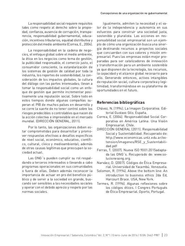 Revista Innovacion Empresarial Vol 2 Elementos De La Nueva Dirección