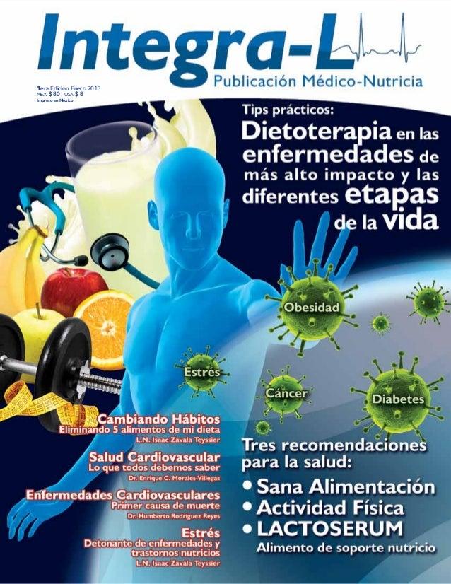 L.N. Isaac Zavala Teyssier | Nutriólogo Ced. Prof. 7163295 1era Edición Enero 2013 MEX $ 80 USA $ 8 Impreso en México
