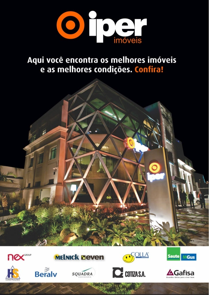 1ª edição do Jornal de Ofertas Iper Imóveis