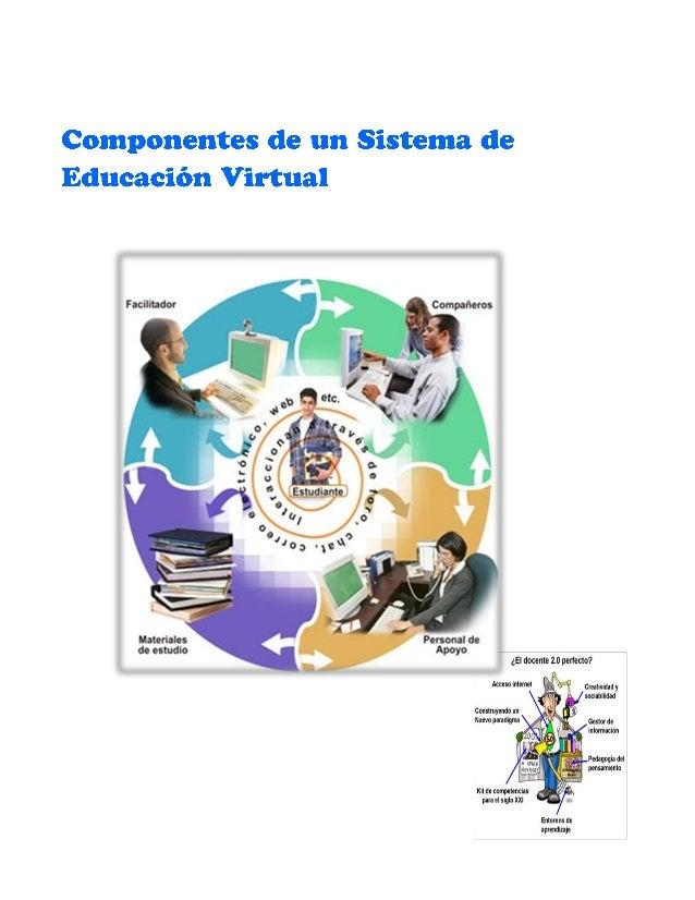 Rol del Estudiante Virtual El rol del estudiante se convierte en más activo y vital para su mismo proceso de aprendizaje, ...