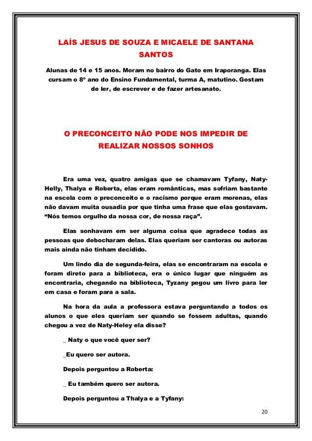 Revista Literária Do Educandário Roberto Figueira Santos Ano 02