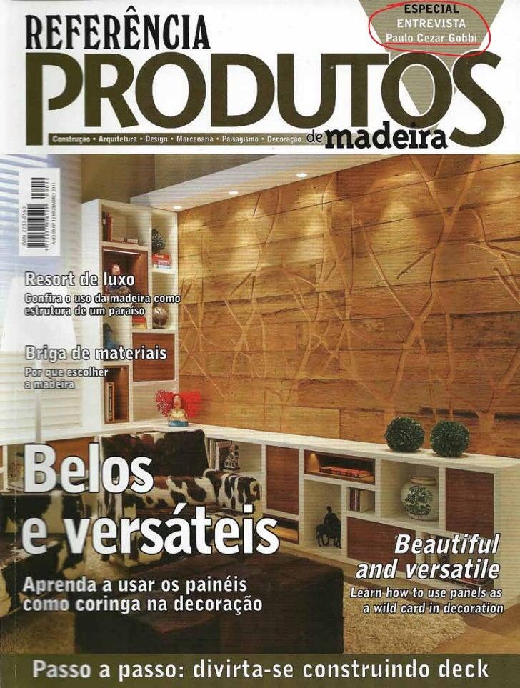 Revista Referência Produtos de Madeira