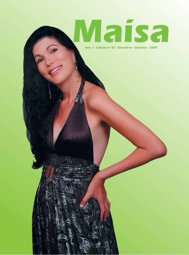 MaísaAno 1 | Edição nº 02 | Setembro / Outubro - 2009