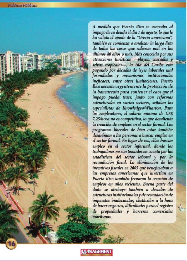 Polilicus P11bI: 'cas  A medida que Puerto Rico se acercaba al  impago de su deuda cl d: 'a I de agosto,  lo que Ie ha val...