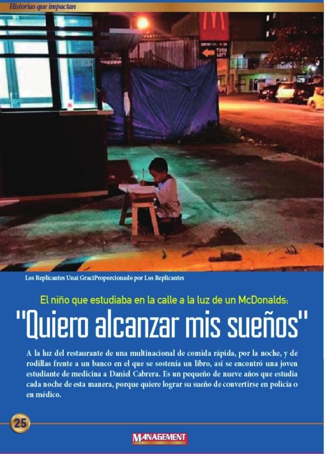 """rs""""?  - Los lleplkanes Uml GraclPmpordonndopor Los lcplluntes  El nifio que estudiaba en la calle a la luz de un McDonalds:..."""