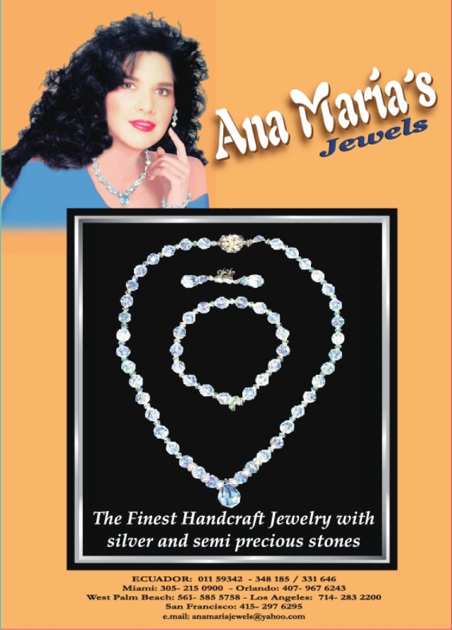 The Finest Handcraft Iewelry with silver and semi precious stones  ECIIADOR:  011 59342 — 348 185 /  331 646 Mianniz 305- ...