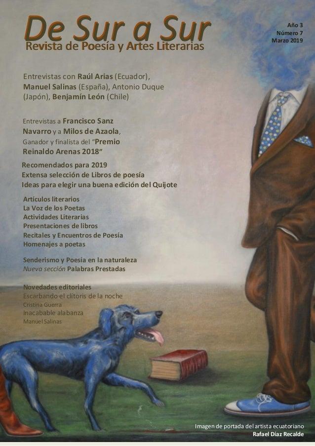 De Sur a SurRevista de Poesía y Artes LiterariasRevista de Poesía y Artes Literarias De Sur a Sur Imagen de portada del ar...