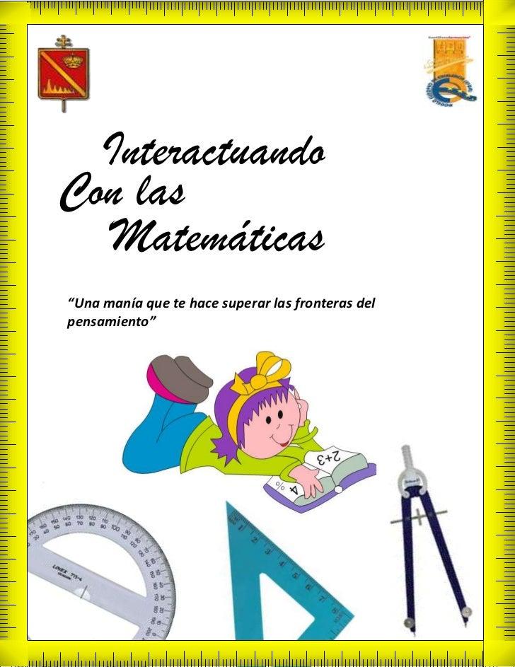 Revista Matematicas