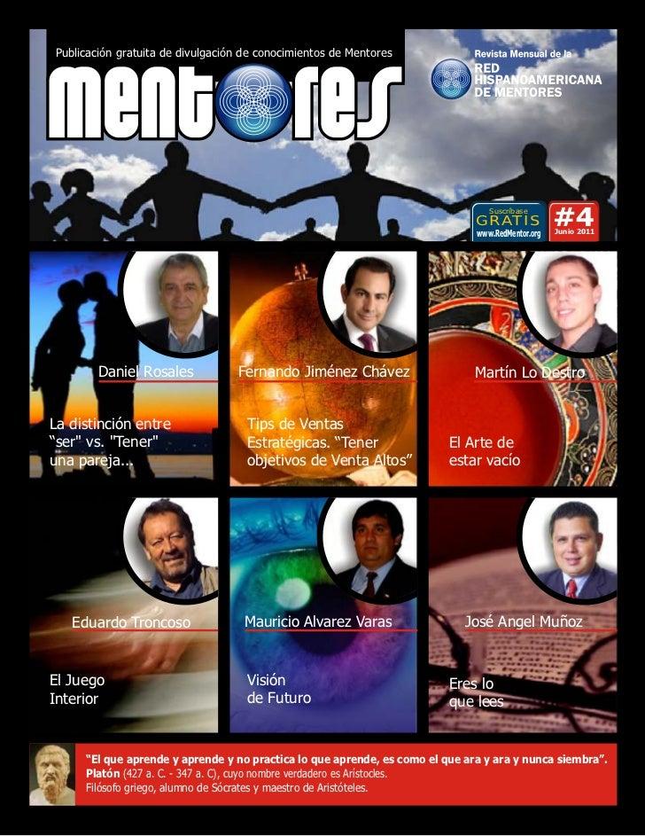 Publicación gratuita de divulgación de conocimientos de Mentores                                                          ...