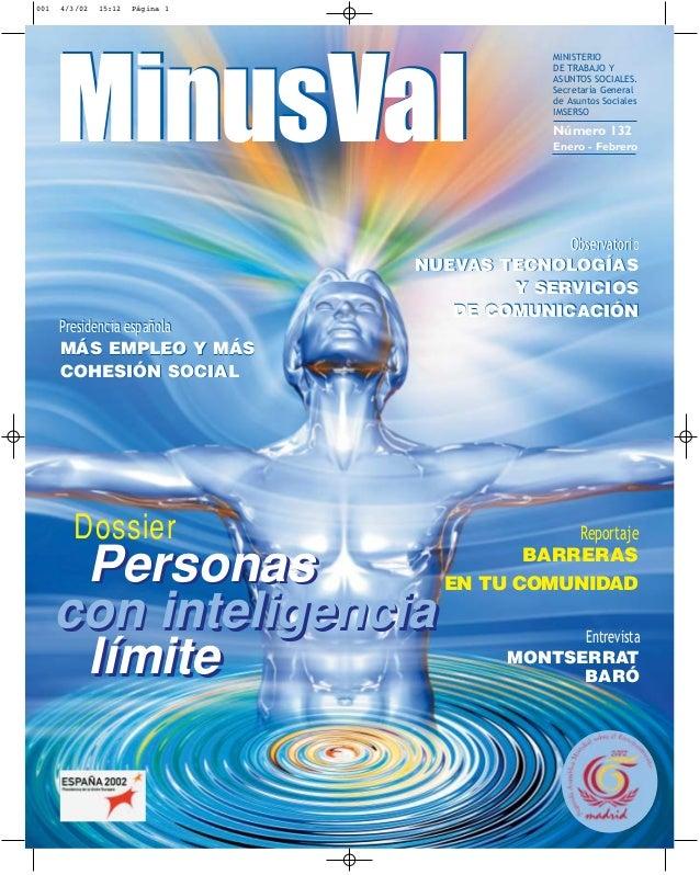 001   4/3/02   15:12   Página 1                                                 MINISTERIO      MinusVal                  ...