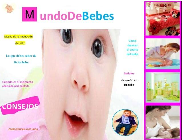 M undoDeBebes Lo que debes saber de De tu bebe Como decorar el cuarto del bebe Diseño de la habitación del niño Cuando es ...