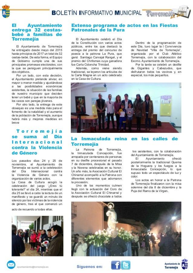 El Ayuntamiento entrega 32 cestas- bebé a familias de Torremejía El Ayuntamiento de Torremejía ha entregado desde mayo del...