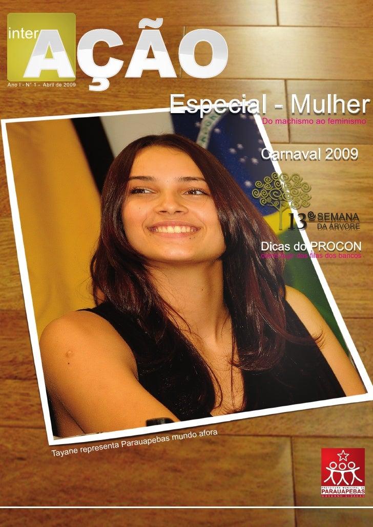 inter        AÇÃO Ano I - N° 1 - Abril de 2009                                                      Especial - Mulher     ...
