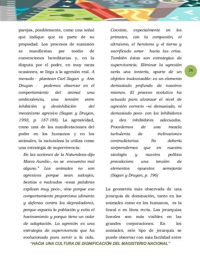 """""""HACIA UNA CULTURA DE DIGNIFICACIÓN DEL MAGISTERIO NACIONAL"""" 26 parejas, posiblemente, como una señal que indique que es p..."""
