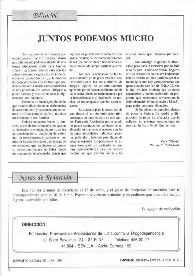 Revista nº 4 abril 1991 de la Federación ENLACE Slide 2