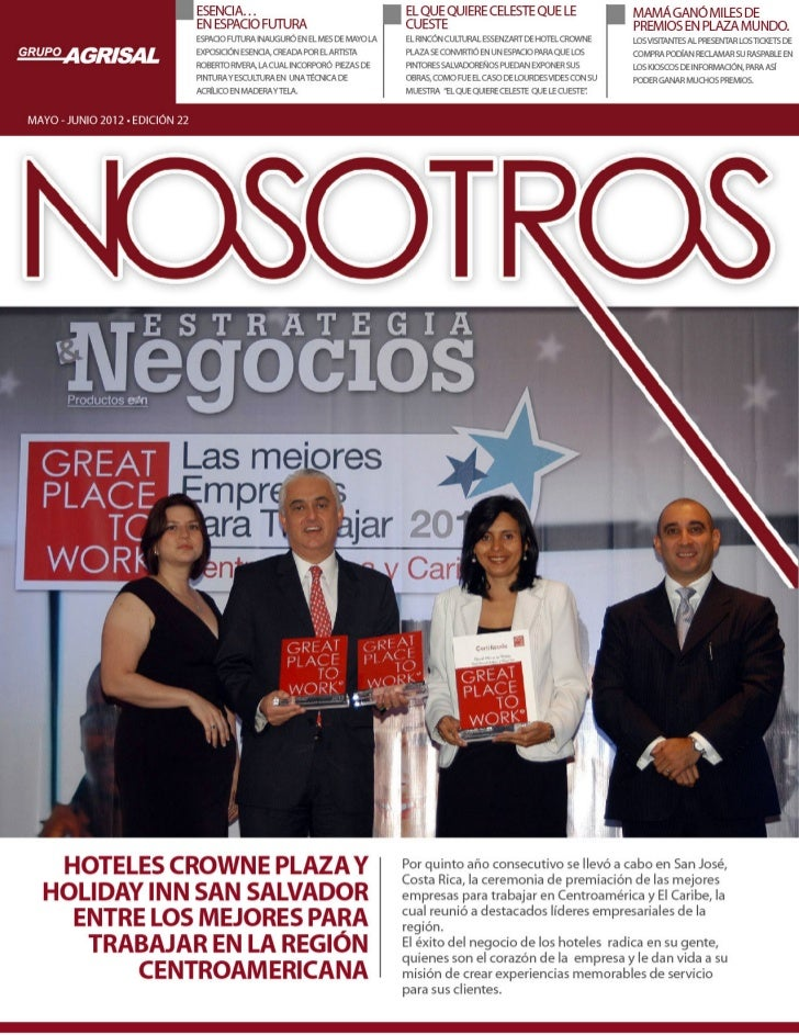 Revista nosotros
