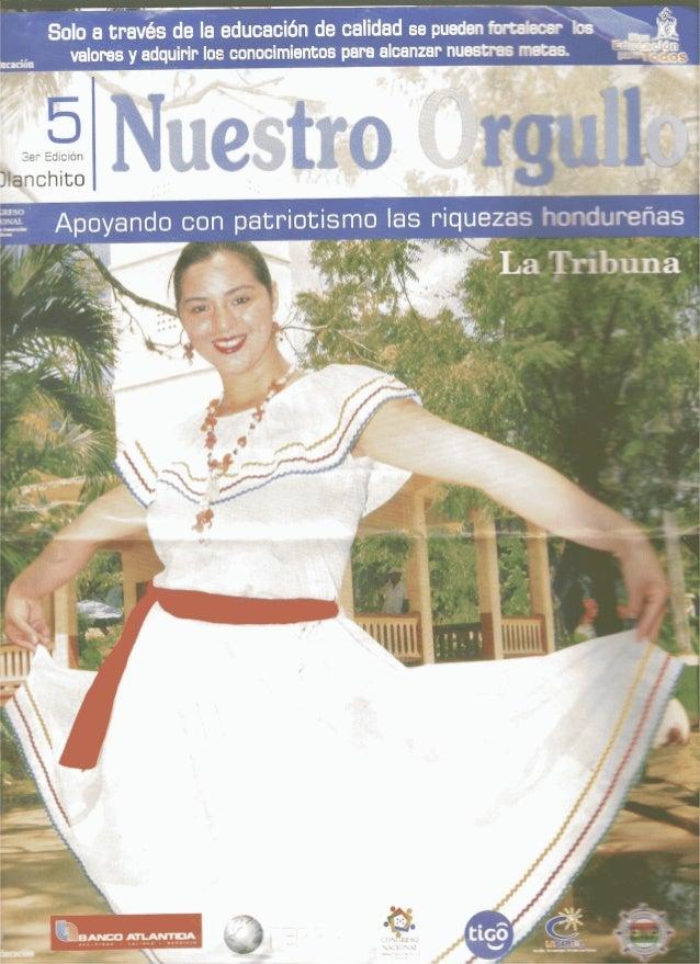 Revista Nuestro Orgullo Olanchito