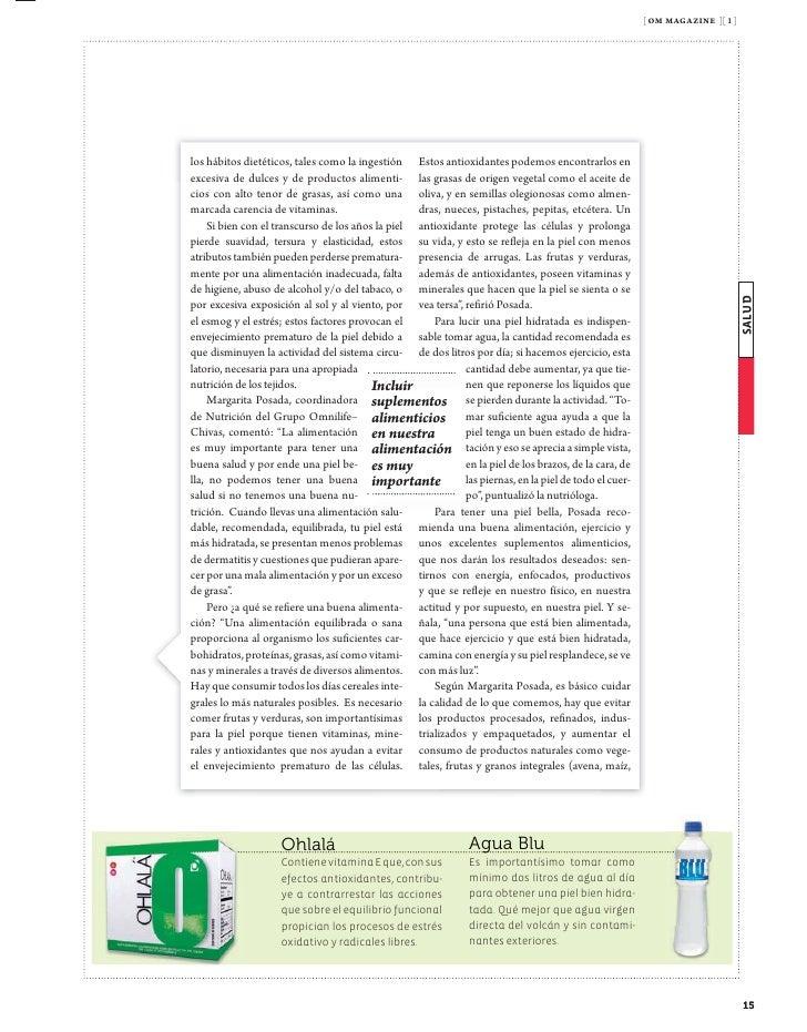 [ om magazine ][ 1 ]                 Tips               Todo fresco, la clave             En la comi-     Las verdu-     O...