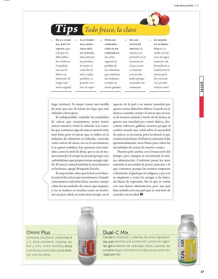 [ om magazine ][ 1 ]                                                   12 de noviembre Destino                            ...