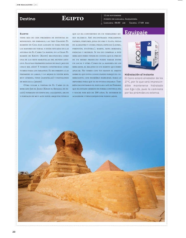 [ om magazine ][ 1 ]                                                             16 de noviembre - puerto de llegada: Ashd...