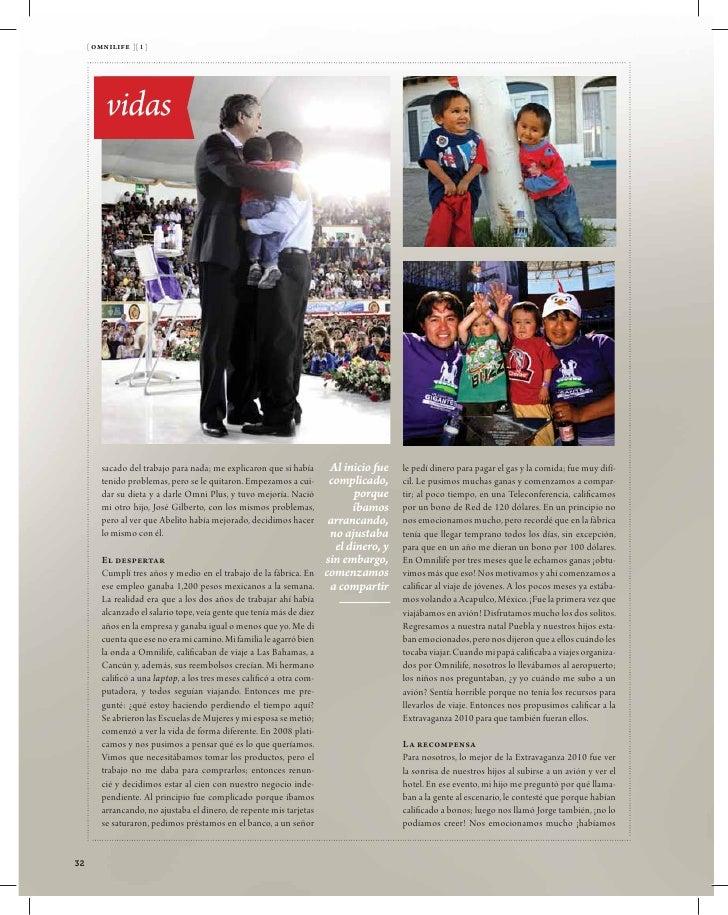[ om magazine ][ 1 ]              vidas               Viviendo                             sus sueños                     ...