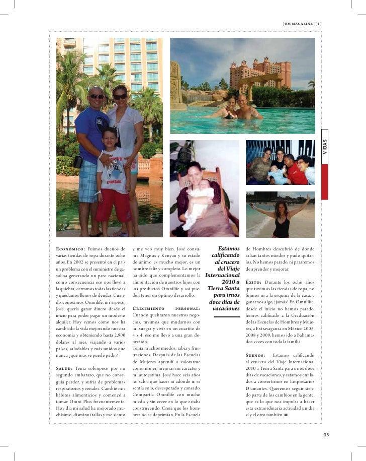[ om magazine ][ 1 ]                                                             ¡SUEÑO CUMPLIDO!                         ...
