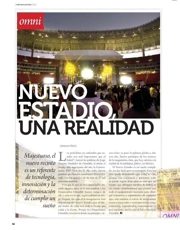 [ om magazine ][ 1 ]             Salud         omni               [ Cristián Mejía ]                E                   n ...