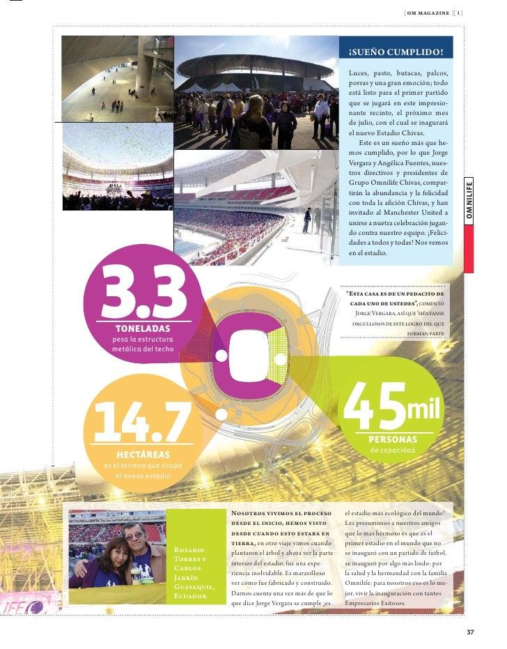 [ om magazine ][ 1 ]                                      LA PLANTA                                                       ...