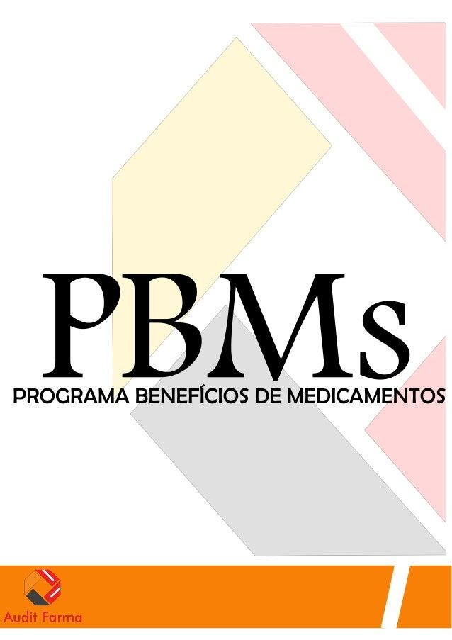 PBMs Programa de Benefícios de Medicamentos