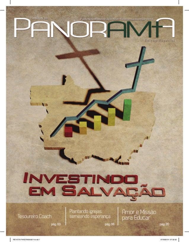 1  REVISTA PANORAMA 2014.indd 1 07/08/2014 07:32:02