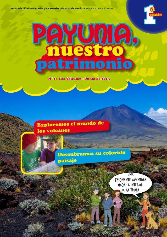 1 nuestronuestro patrimoniopatrimonio Payunia,Payunia,Payunia, 11edición nuestronuestro patrimoniopatrimonio Payunia,Payun...