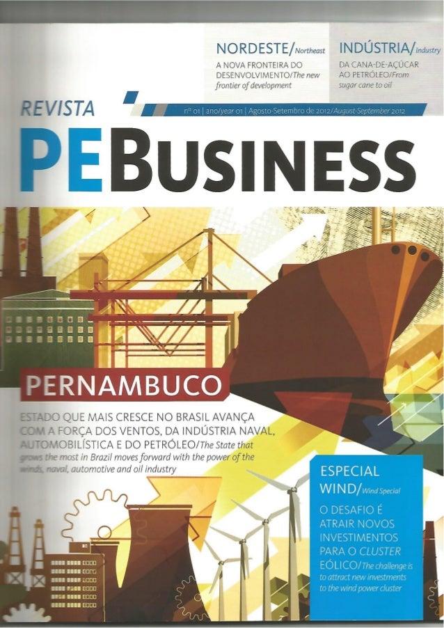 Revista PEBusiness - Wind energy