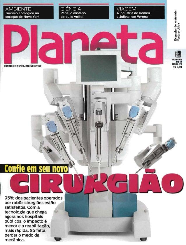 Revista planeta   confie em seu novo cirurgião